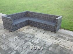 7 seater rattan corner sofa set chair outdoor garden furniture patio furniture