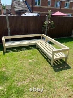 Garden Furniture Set / L shape Sofa/ Patio Furniture Bespoke Sizes