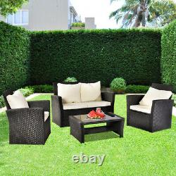 Rattan Garden Furniture Dining Set Conservatory Patio Outdoor Table Chairs Sofa