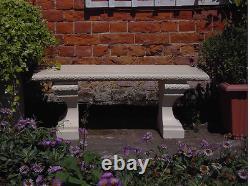 Stone Garden Bench Rustic Bench Garden Chair Furniture Patio Outdoor Bench