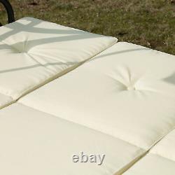 Swing Hammock Chair Seat Bed Adjustable Canopy Garden Outdoor Metal Furniture